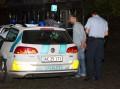 Politiet anholdt torsadg aften en 23-årig mand efter en brand på et værtshus. Han erkendte branden i grundlovsforhøret. Foto: Michael Johannessen.