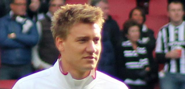 Nicklas Bendtner fik gigant bøde for spritkørsel.. Arkivfoto: Ed g2s.