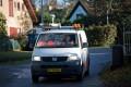 En ud af fem har kørt galt eller været tæt på at køre galt i arbejdstiden. Foto: Rådet for sikker trafik.